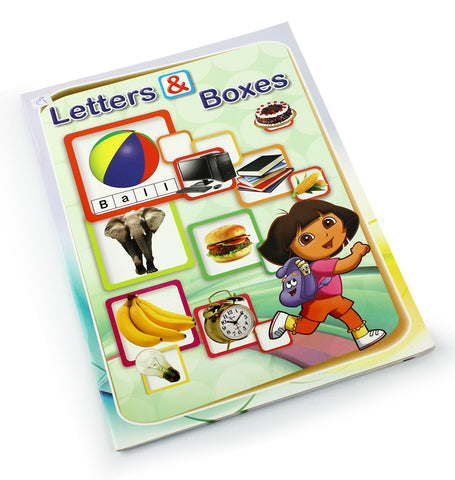 Letters and boxes - Children learning