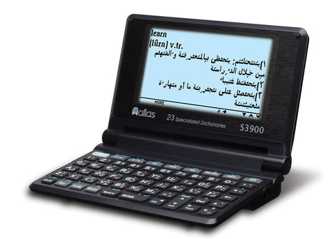 Atlas S3900 Specialized Talking English, Arabic Dictionary