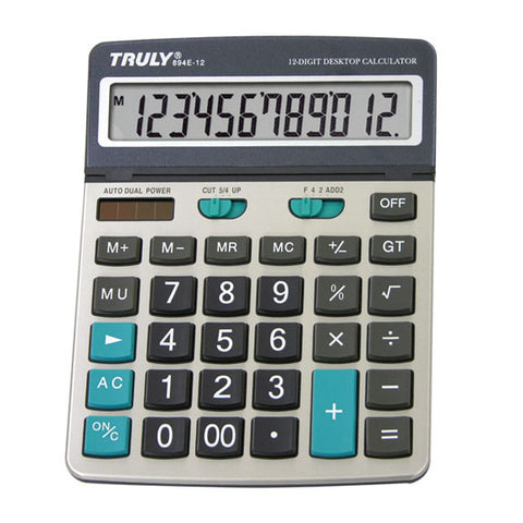 Desktop calculator - 894E-12