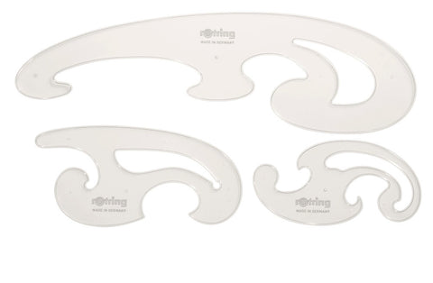 Burmester Curves Set (3 pieces)