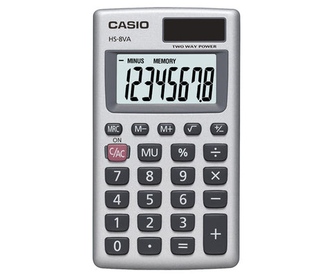 HS-8VA Portable Type Calculator