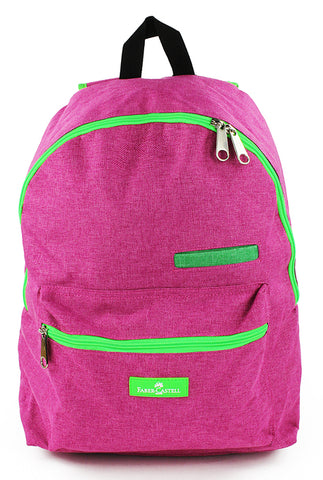 Faber-Castell School Backpack - Fuschia