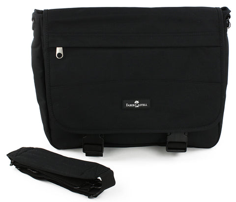 Faber-Castell Messenger Bag - Black