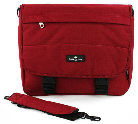 Faber-Castell Messenger Bag - Viking Red