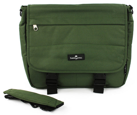 Faber-Castell Messenger Bag - Olive Green