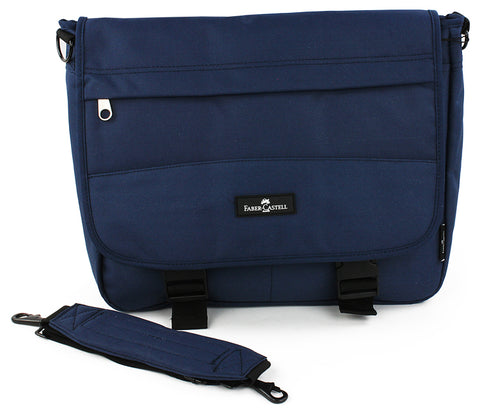 Faber-Castell Messenger Bag - Dark blue
