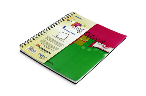Vivid Twin Wire Notebook 23 X 27.9 cm