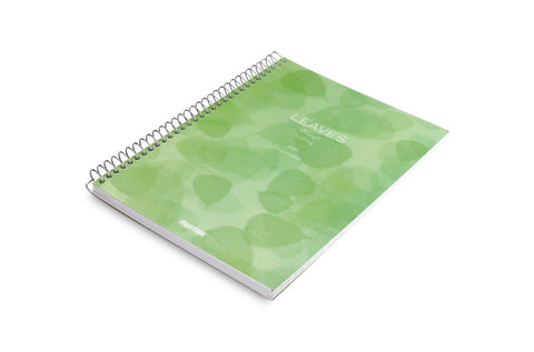 Leaves Spiral Notebook 20.2 X 28 cm