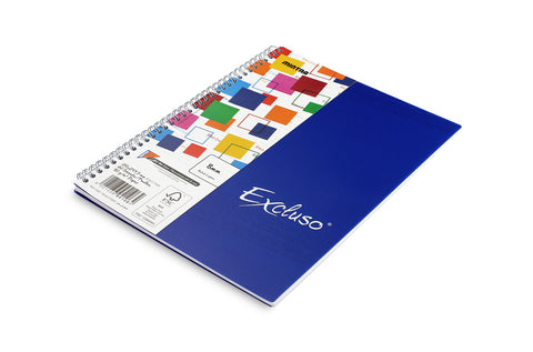 EXCLUSO Twin wire notebook 21 X 29.7 cm