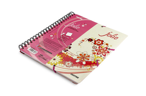 Jolie Twin wire Notebook