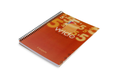 WIDE Spiral Notebook A4