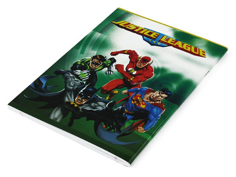 Justice League School Notebook - 80 Sheets