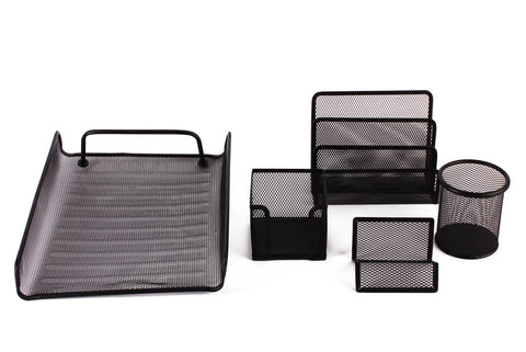 5pcs Metal Mesh Office Set 2114