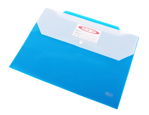 Clear Document Folder with Buckle  NO-213F-212F