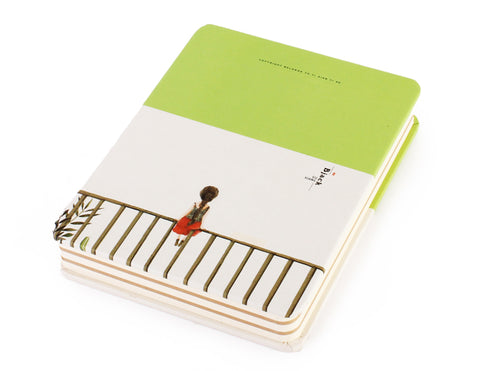 Hardcover notebook 11 x 14.5 cm