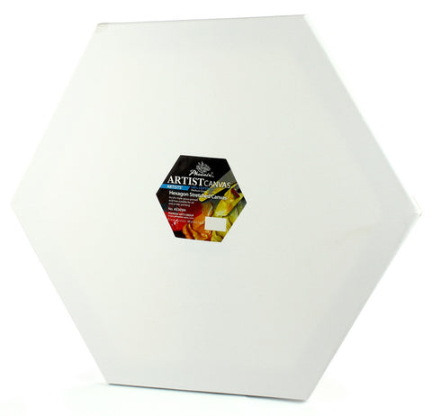 Artist canvas (100 % cotton - 350 gm) - Hexagon
