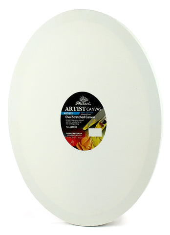 Artist canvas (100 % cotton - 350 gm) - Oval