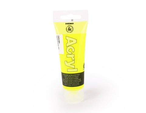 Fluo fine acrylic paint - fluorescent Yellow