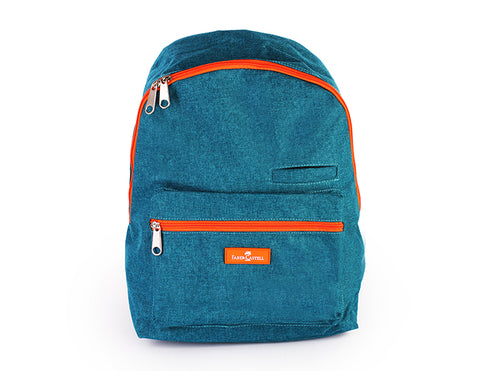 Bluish Green Backpack