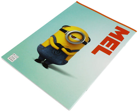 Minions School Notebook - 40 Sheets
