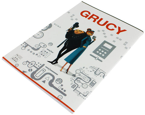 Grucy School Notebook - 100 Sheets