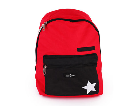 Red & Black Backpack