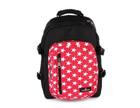Black & Red Backpack