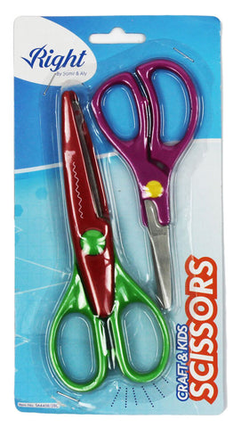 Metal Scissors - set of 2
