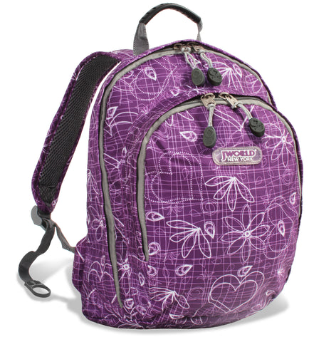 LAKONIA KIDS' BACKPACK - Love purple