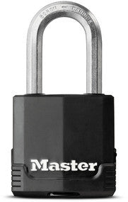 Excell® covered laminated steel padlock with 38mm long shackle - 49mm wide