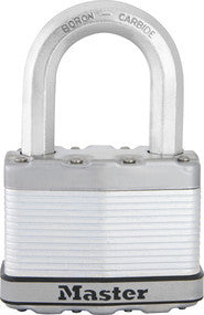 Excell® Laminated Steel Padlock with 38mm Long Shackle - 64 mm wide
