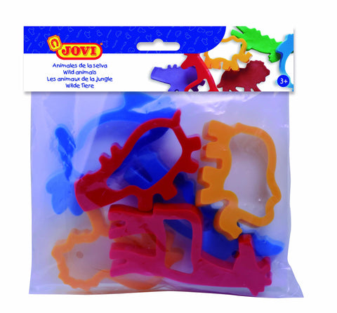 BAG OF MOULDS - JUNGLE ANIMALS