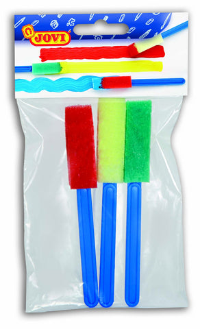 BAG WITH 3 DIFFERENT SPONGE PAINTING BRUSHES - SMALL