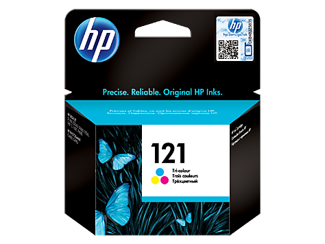 121 Tri-color Original Ink Cartridge (CC643HE)