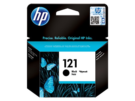 121 Black Original Ink Cartridge (CC640HE)