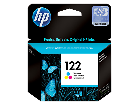 122 Tri-color Original Ink Cartridge (CH562HE)