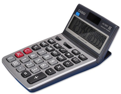 AX-120ST Compact Desk Type Calculator
