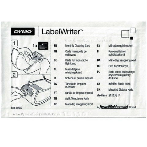 LabelWriter Cleaning Cards - 10 Pieces