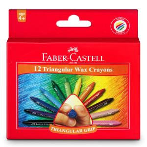 Grip wax crayons box of 12 - 105 X 11 mm
