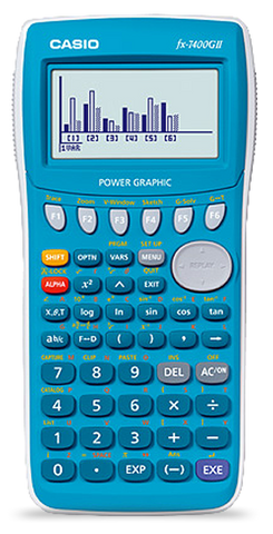 FX-7400GII Educational calculator