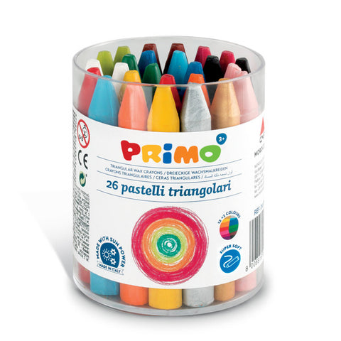 Wax crayons - 26 supersoft colors