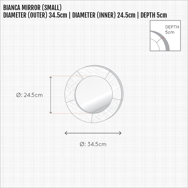 Bianca Mirror (Small)