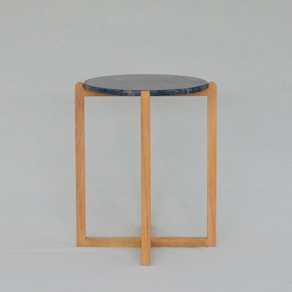 MACCHIATWO COFFEE TABLE - 40CM DIAMETER - TALL (BLACK GOLD)