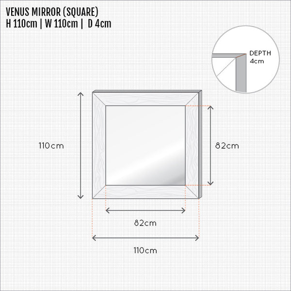 VENUS MIRROR (SQUARE)