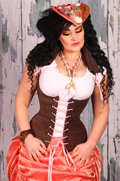 Adventure Vixen Corset in Semisweet