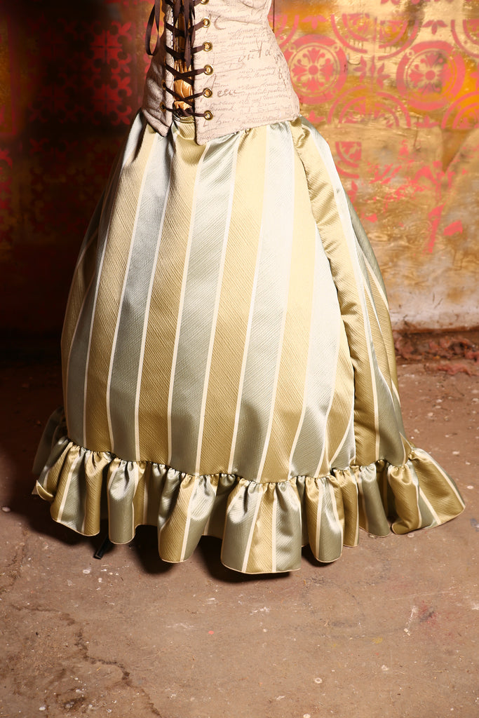 Carousel Skirt in Maplewood Stripe