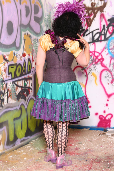 Froofroo Corset in Wisteria