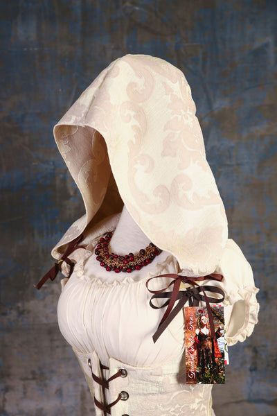 Pearl Damask Detachable Hood - P/RJ1/RJ2