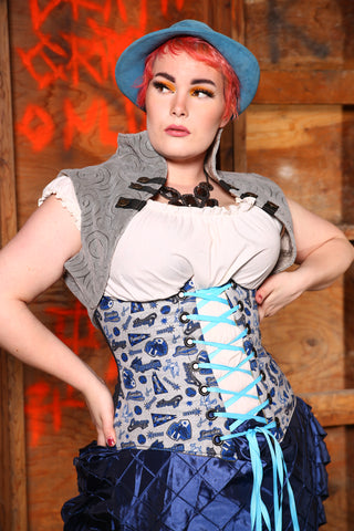 Wench Corset in Team Ravenclaw