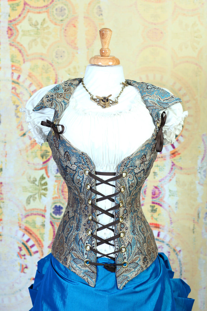 Lady Pepper Paisley Dashing Duchess Corset